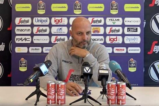Virtus, Aleksandar Djordjevic presenta il match contro Reggio Emilia