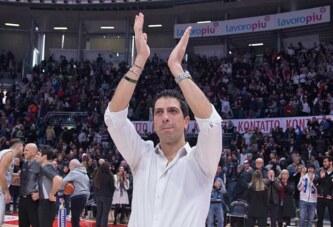 Fortitudo, a coach Antimo Martino il premio Reverberi-Oscar del Basket!