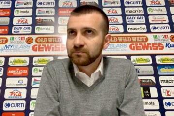 Imola, coach Emanuele Di Paolantonio pre match Verona