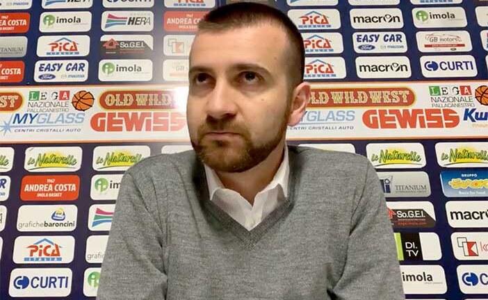 Imola, coach Emanuele Di Paolantonio post match Forlì