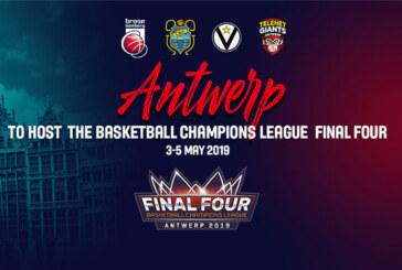 BCL, sarà Anversa ad ospitare la Final Four 2019