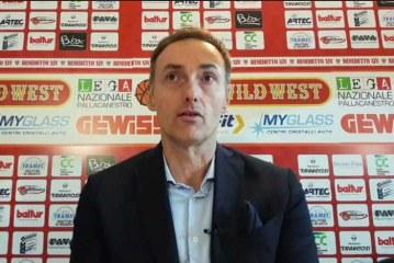 Cento, coach Luca Bechi post match Gara3 Legnano