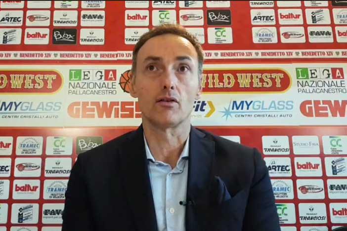 Cento, le parole di coach Luca Bechi