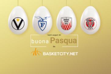 Tanti auguri di buona Pasqua BasketCity