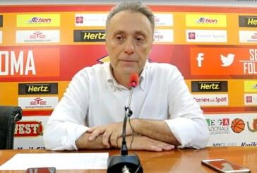 Virtus Roma, coach Piero Bucchi in vista del ritorno contro la Fortitudo