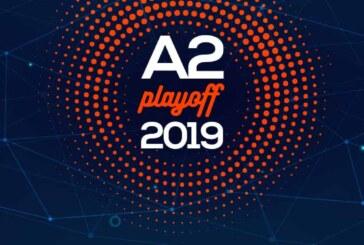 A2 Playoff 2019 – Quarti: tabellone, e programma dei match