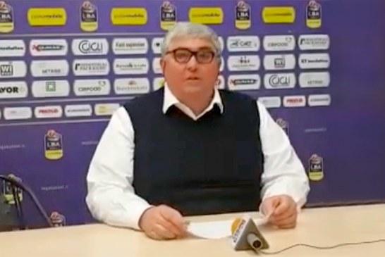 Reggio Emilia, Stefano Pillastrini presenta il match contro la Virtus