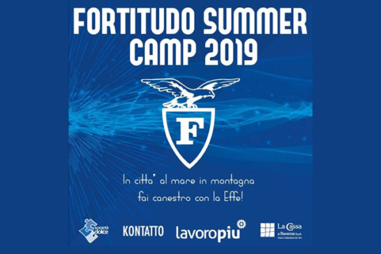 Tutto pronto per il Fortitudo Summer Camp 2019!