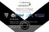 """Virtus, primo """"Trofeo Alfasigma"""" per gli Esordienti da domenica 26 maggio"""