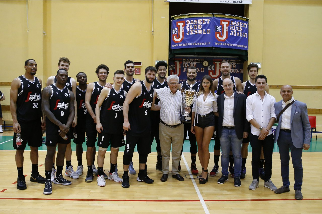 Torneo di Jesolo, la Virtus batte Trento dopo un over time