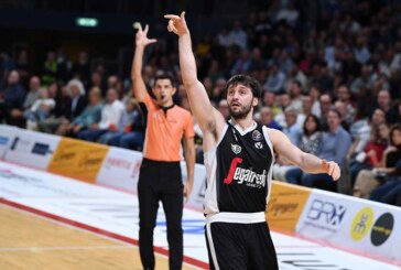 Virtus, Markovic l'unico 3 volte nella Top Five assist