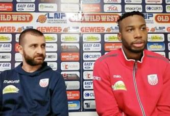 Imola, Di Paolantonio e Morse pre match Ferrara