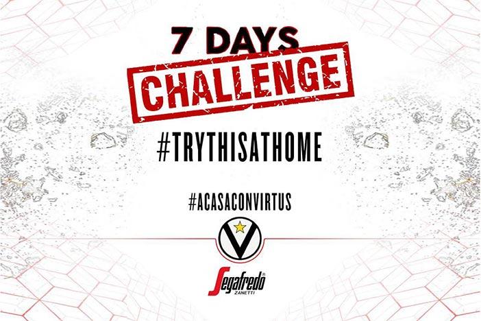 #ACasaConVirtus, 7 Days Challenge, #TryThisAtHome