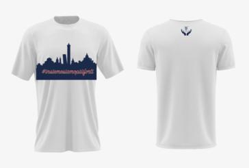 Fortitudo, una nuova T-shirt per lanciare insieme il nostro forte messaggio di unione e solidarietà