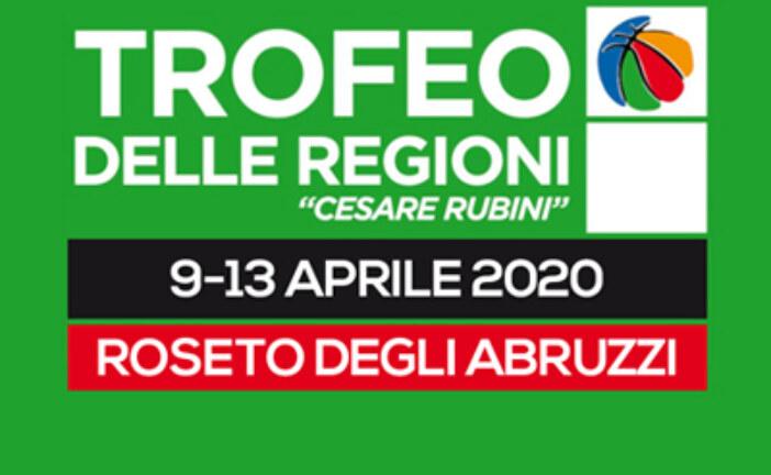 """TDR2020, annullato il Trofeo delle Regioni """"Cesare Rubini"""""""