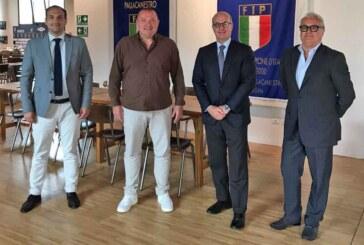 Il Presidente di LBA Gandini in visita a Casa Fortitudo
