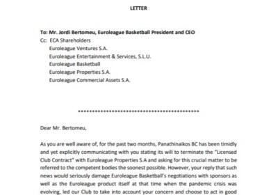 letter euroleague 1