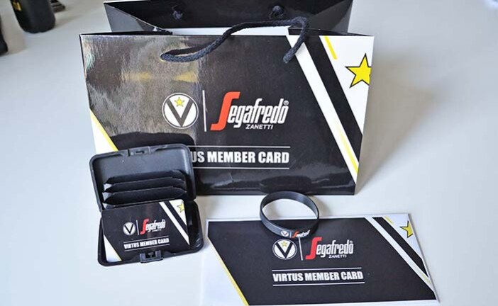 Virtus, ecco la nuova member card