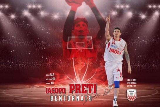 Imola, Jacopo Preti is back!