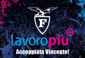 Fortitudo, Lavoropiù è il nuovo Main Sponsor della Fortitudo!