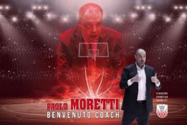 Imola, Paolo Moretti nuovo coach biancorosso