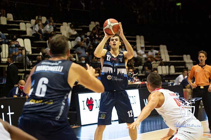 Fortitudo, Mattia Palumbo in prestito alla Givova Scafati Basket