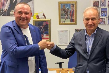 Fortitudo, il Presidente FIP Gianni Petrucci visita il nuovo Centro Sportivo