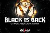 """Virtus, """" Black is back"""" la campagna abbonamenti 2020-21"""