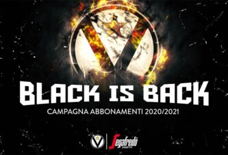 "Virtus, "" Black is back"" la campagna abbonamenti 2020-21"