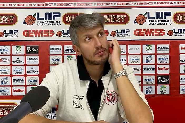 Serie A2, Supercoppa 2020-21: Mecacci pre match Capo D'Orlando