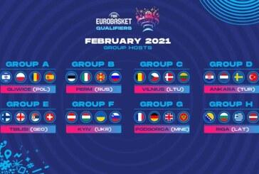 """Board di FIBA Europe: a febbraio Azzurri nella """"bolla"""" di Perm"""