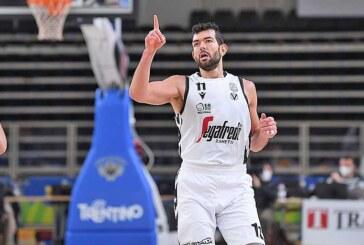 Serie A 2021 playoff Semifinali G2: nella <br>seconda vittoria Virtus a Brindisi Ricci <br>alla prima 'doppia doppia' nei Playoff