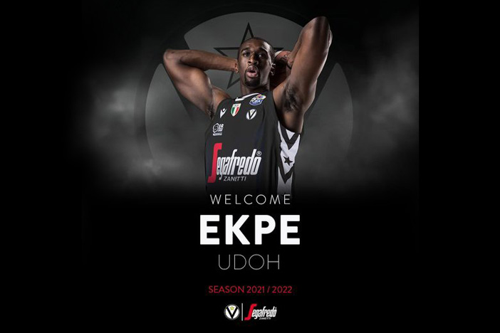 Virtus, Ekpe Udoh ora è ufficiale