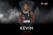Virtus, Kevin Hervey <br>firma fino al 2023