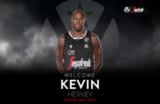 Virtus, Kevin Hervey <br>saluta i tifosi bianconeri