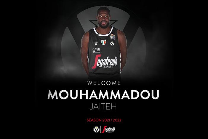 Virtus, ufficiale il centro Mouhammadou Jaiteh