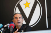 Virtus, la conferenza stampa <br>di Sergio Scariolo