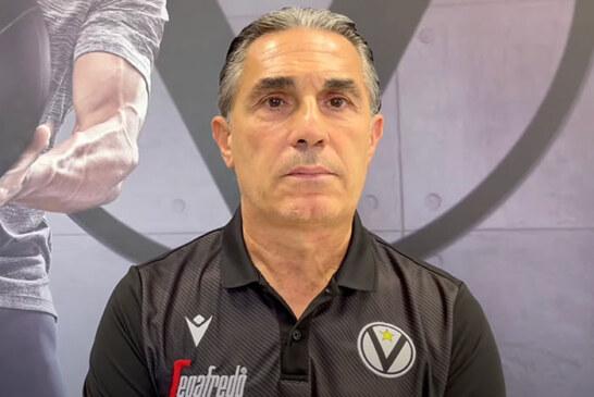 Discovery+ Supercoppa: coach Sergio Scariolo pre match Tortona