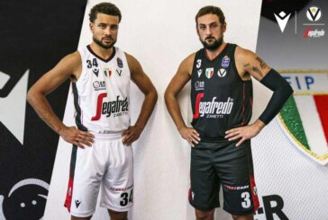 Macron e Virtus presentano le nuove maglie per il campionato