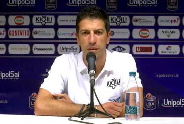 Fortitudo, la presentazione di coach Antimo Martino