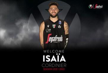 La Virtus ufficializza Isaia Cordinier