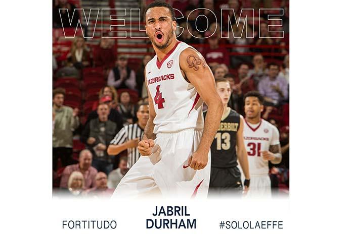 Jabril Durham è un nuovo giocatore <br>della Fortitudo Kigili!